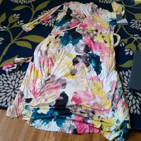 dccd13f7d44 Melissa McCarthy Maxi Dress size 2x. M 5b37f2be7386bca3d2edf178